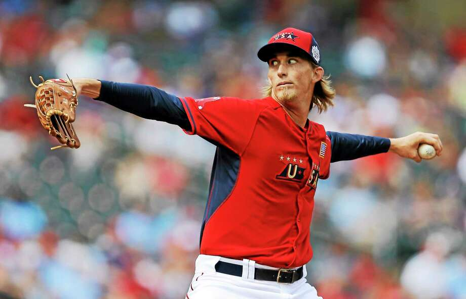Pitcher Henry Owens was promoted to Triple-A by the Red Sox this week. Photo: Jeff Roberson — The Associated Press  / AP
