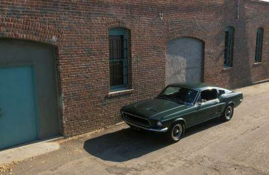 The 1968 Highland Green V8 Mustang GT 390 Fastback imortalized by Steve McQueen in the film 'Bullitt.'