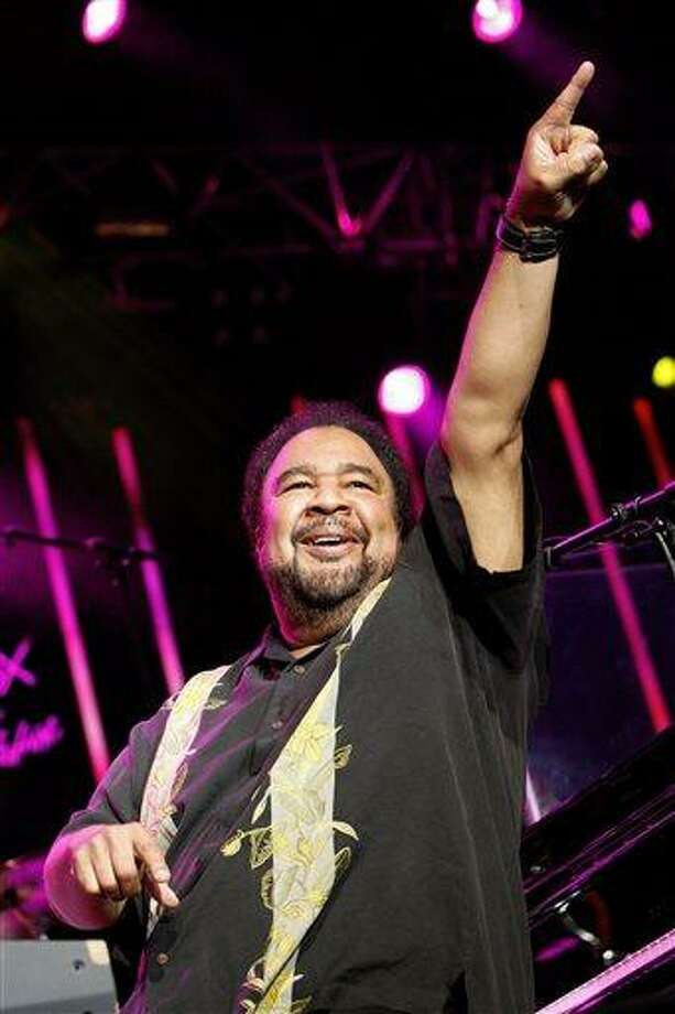 FILE - In this July 13, 2009 file photo, US jazz artist George Duke performs on the Stravinski Hall stage at the 43rd Montreux Jazz Festival, in Montreux, Switzerland. Duke, 67, the Grammy-winning jazz keyboardist and producer whose sound infused acoustic jazz, electronic jazz, funk, R&B and soul in a 40-year-plus career, died Monday, Aug. 5, 2013, in Los Angeles. He was being treated for chronic lymphocytic leukemia. (AP Photo/Keystone, Jean-Christophe Bott, File) Photo: AP / KEYSTONE