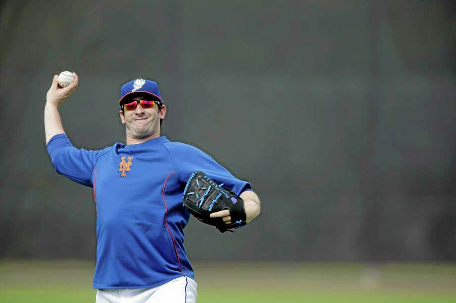 New York Mets pitcher Matt Harvey has earned $60,000 in bonuses for making last year's all-star team and finishing tied for fourth in the NL Cy Young Award voting. Photo: Jeff Roberson — The Associated Press  / AP