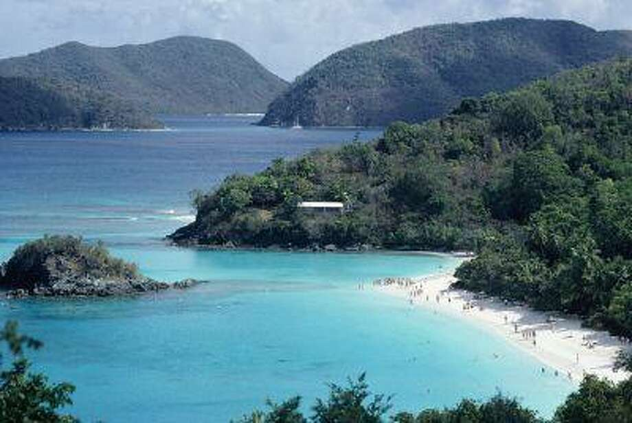 If you are looking for a luxurious destination in the Caribbean, with white sand beaches and towns with shopping, St. Johns in the U.S. Virgin Islands could be a fabulous fit. (Shutterstock) Photo: Getty Images / (c) DC Productions
