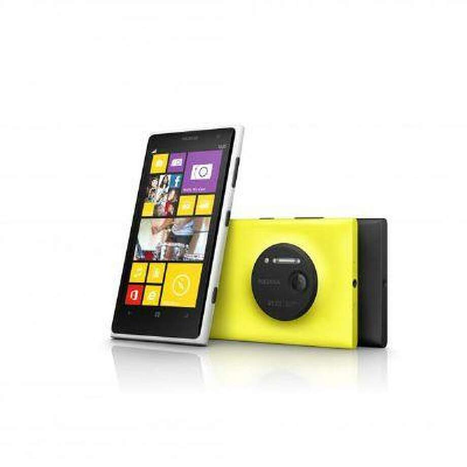 The Nokia Lumia 1020 comes in three colors and features a 41-megapixel camera. Photo: POST_UPLOAD / The Denver Post