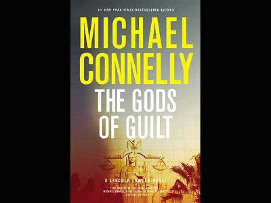 """This photo shows the cover of the book, """"The Gods of Guilt,"""" (Little, Brown and Company) by author Michael Connelly Photo: AP / Little, Brown and Company"""