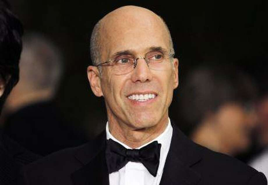 Producer Jeffrey Katzenberg, chief executive of DreamWorks Animation, arrives at the Academy of Motion Picture Arts & Sciences 4th annual Governors Awards in Hollywood in this file photo from December 1, 2012. Photo: REUTERS / X00224