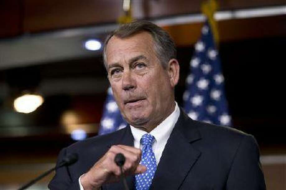For the 40th time, Republicans pushed legislation through the House on Friday targeting President Barack Obama's health care overhaul, this one a bill preventing the Internal Revenue Service from implementing any part of the health care law. (AP Photo/J. Scott Applewhite) Photo: AP / AP