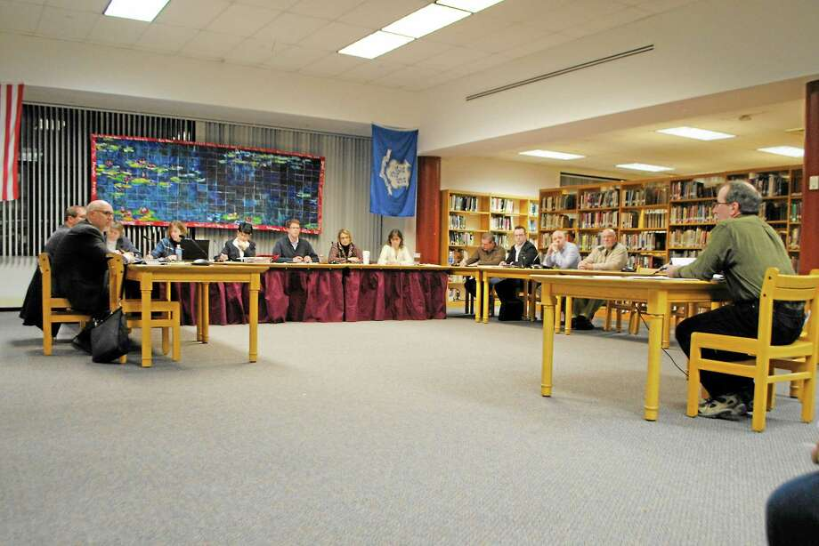 The Torrington Board of Education meets in March. Photo: Register Citizen File Photo