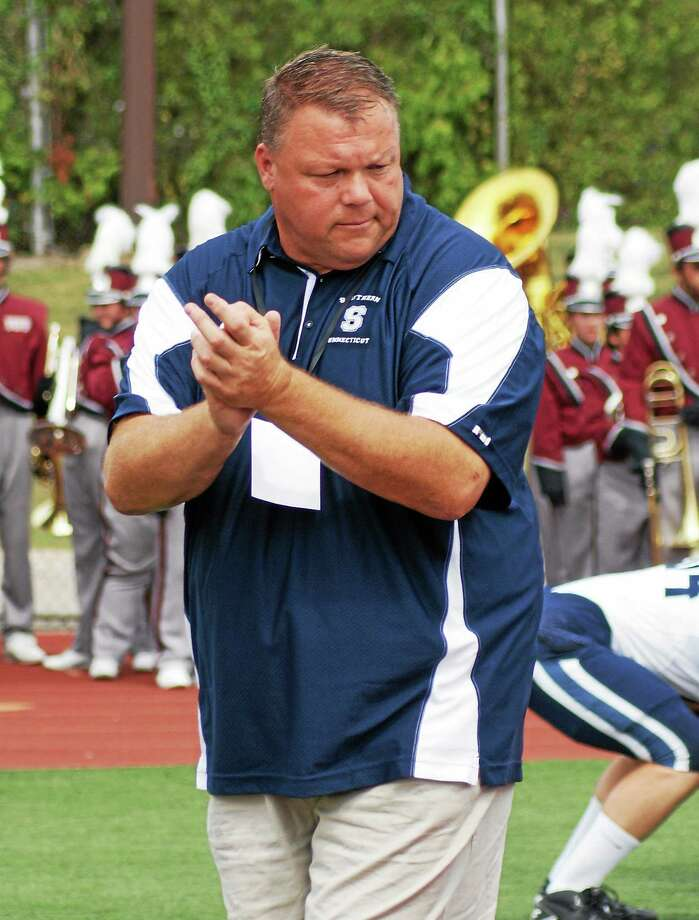 Tom Godek was recently named the head football coach at Southern Connecticut State. While Register sports columnist Chip Malafronte thinks it was a good choice by the program, the amount of time it took — particularly that it lasted the entirity of prime recruiting season — has some alumni and supporters feeling that SCSU handcuffed itself in the search. Photo: Photo Courtesy Of SCSU Athletics