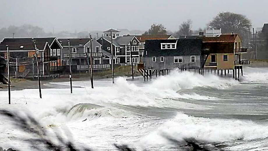 The Connecticut shore in the area of Old Greenwich. Photo: AP File Photo