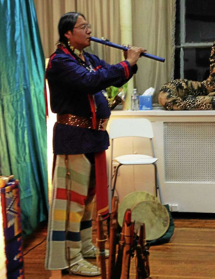 Submitted photo Joseph Firecrow Joseph Firecrow is the opening musician at Thomaston's upcoming ArtZfest. Photo: Journal Register Co.
