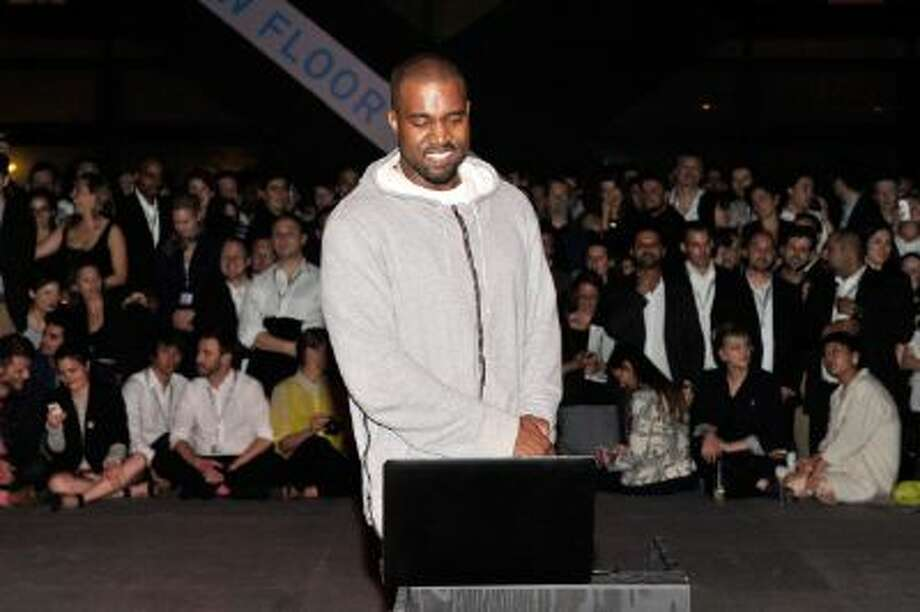 Kanye West shares with the Design Miami/ Basel audience parts of its unreleased new album Yeezus during a listening session at Design Miami/ Basel on June 12, 2013 in Basel, Switzerland. Photo: Getty Images / 2013 The Image Gate