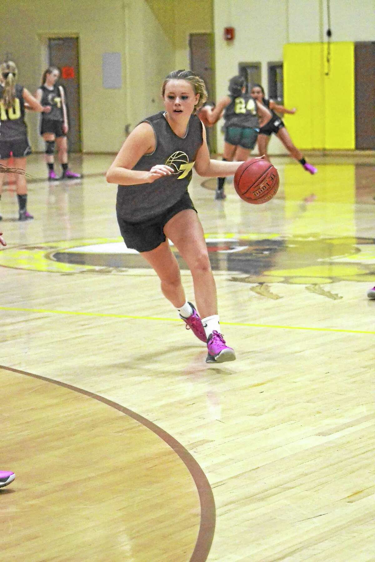 Thomaston's Abby Hurlbert was a big part of the Golden Bears success last season as a junior. This season Hurlbert hopes to lead Thomaston back to Berkshire League title.
