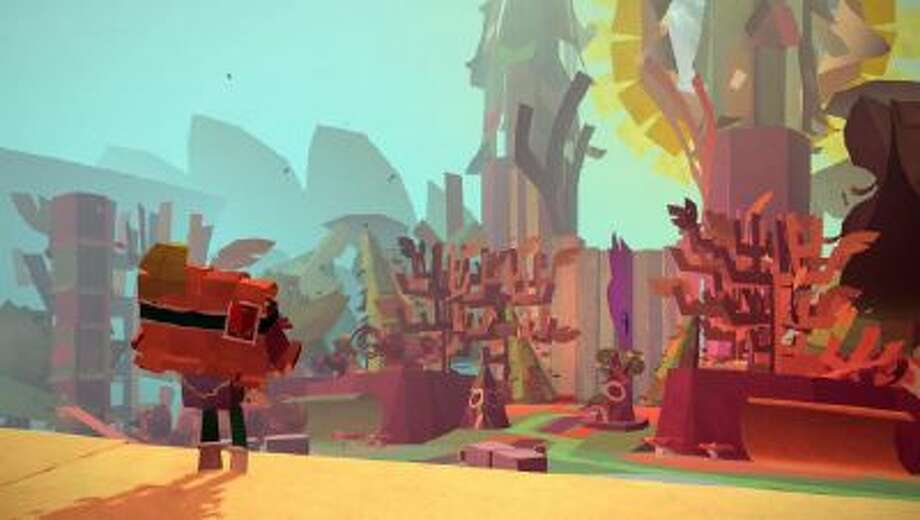 """Media Molecule, the makers of """"LittleBigPlanet,"""" have developed another craft-themed title called """"Tearaway,"""" which takes advantage of the PlayStation Vita's features."""