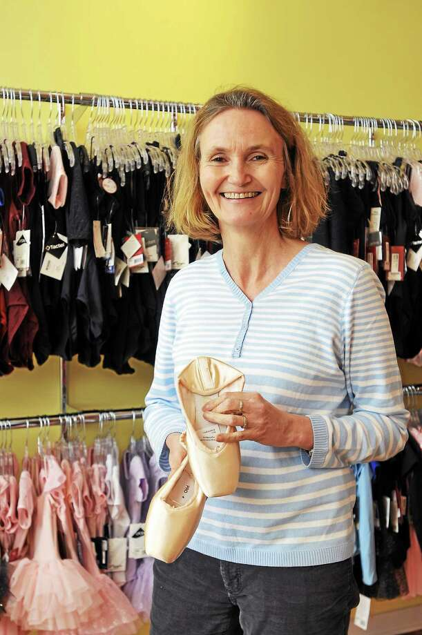 Photos by Laurie Gaboardi Monica Harcken owner and manager of Monicaís Corner at 64 Railroad St. in New Milford, which stocks dancewear and more. Photo: Journal Register Co.