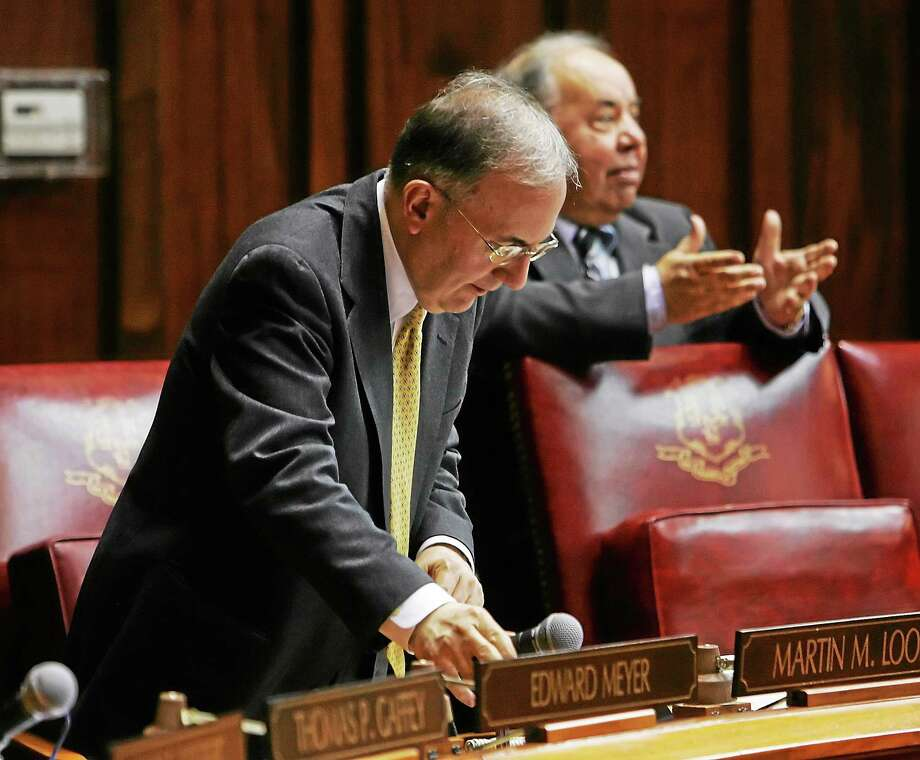 Connecticut Senate Majority Leader Martin M. Looney, D-New Haven. Photo: AP Photo/Bob Child  / AP