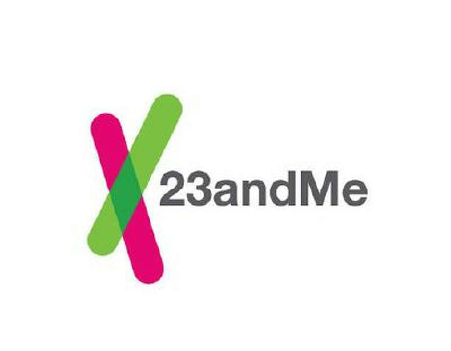 This image provided by 23andMe shows the company's logo. Genetic testing company 23andMe is facing a class action lawsuit alleging that the Silicon Valley startup misled customers with advertising for its personalized DNA test kit. Photo: AP / 23andme