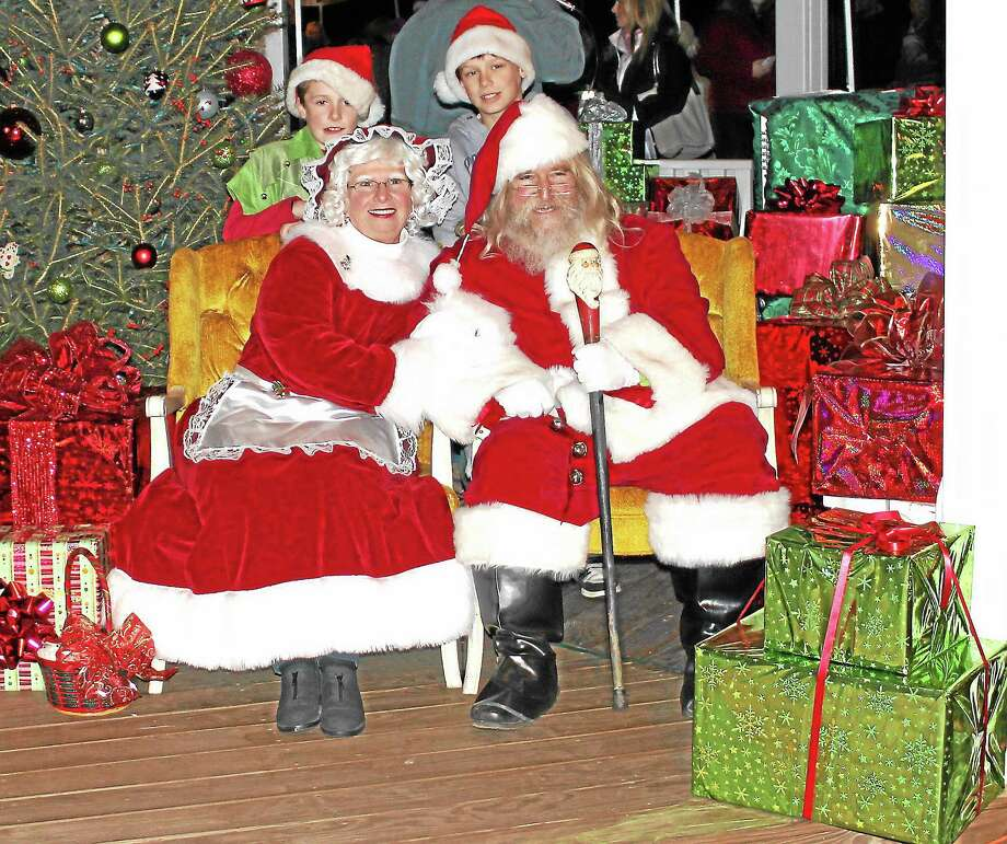 Santa and Mrs. Claus will meet with all of the children at this year's Hometown Holiday Celebration to hear what they want for Christmas. Photo: Submitted Photo