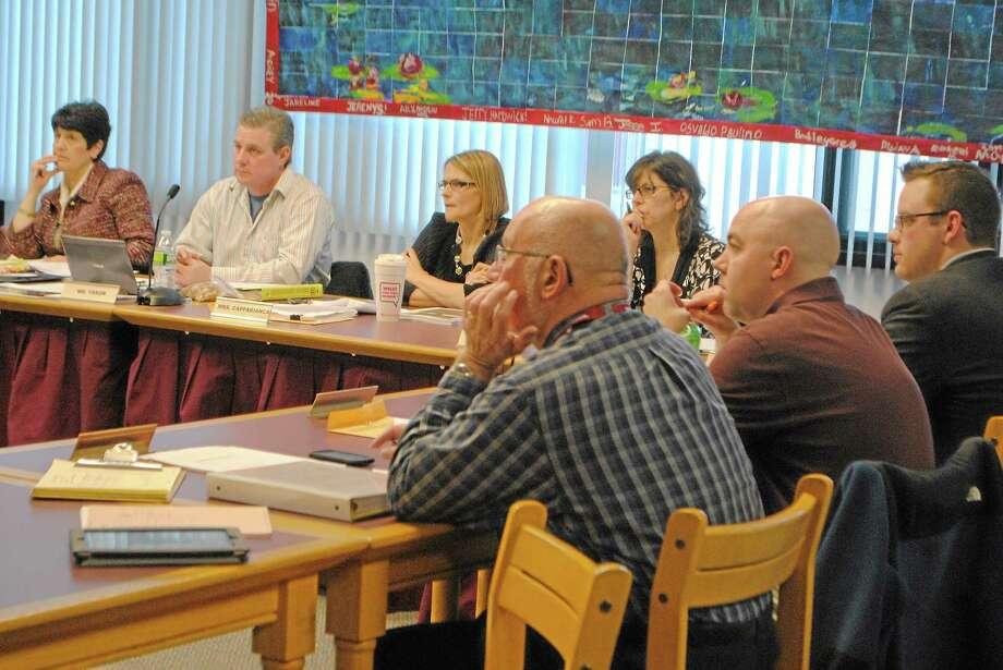Torrington Board of Education members hear department budget presentations. Photo: Register Citizen File Photos