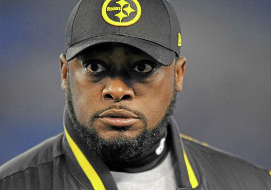 Pittsburgh Steelers head coach Mike Tomlin says he's embarrassed about his unintentional but inexcusable foray onto the field in last Thursday night's loss to Baltimore. Photo: Gail Burton — The Associated Press  / FR4095 AP
