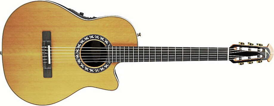 An Ovation guitar. Photo couretsy of www.ovationguitars.com Photo: Journal Register Co.