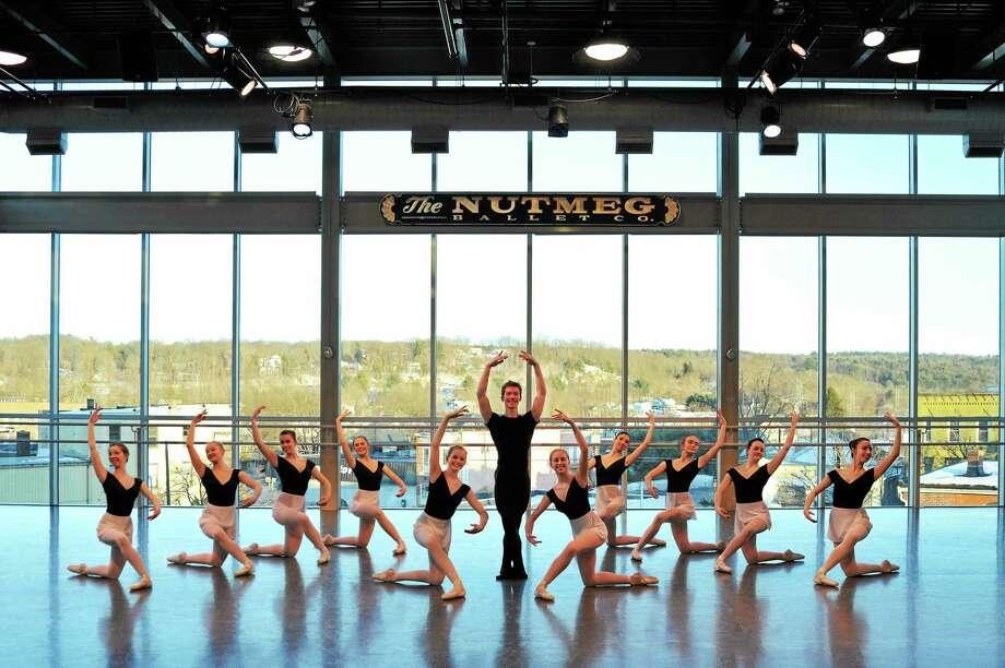 Photo by Don Perdue The trainees of The Nutmeg Ballet rehearse for upcoming Graduation Performances taking place in the Premiere Studio Theater. Photo: Journal Register Co. / (c) DON PERDUE