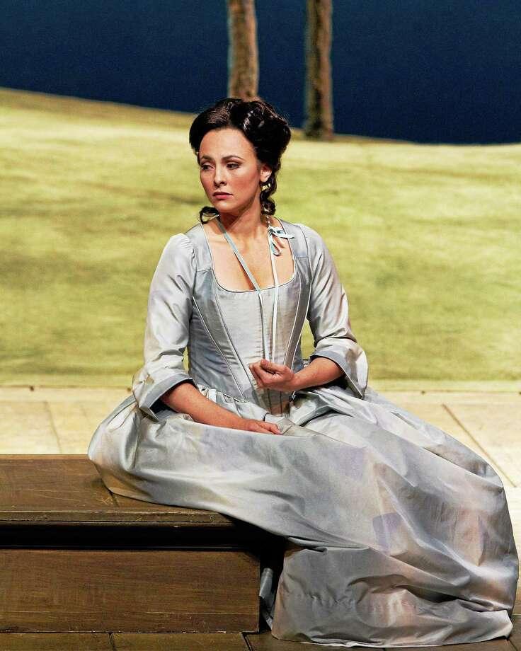 """Photo by Marty Sohl/Metropolitan Opera Isabel Leonard as Dorabella in Mozart's """"CosÏ Fan Tutte."""" Photo: Marty Sohl/Metropolitan Opera / Marty Sohl/Metropolitan Opera"""