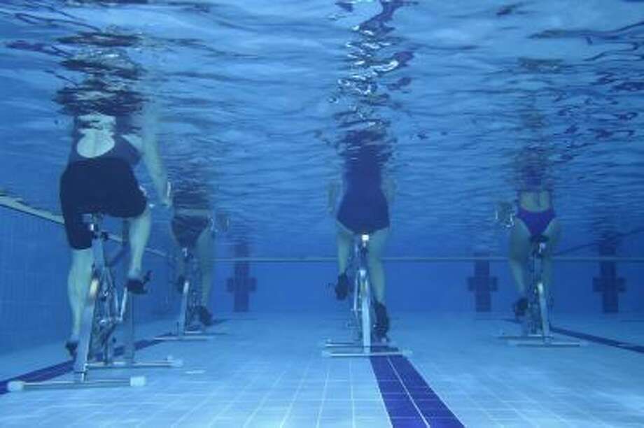 Workout like the French: aquafitness continues to grow in popularity