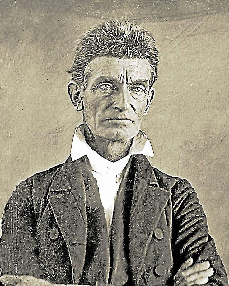 John Brown made his mark as an abolissionist in Ohio, but he was born in Torrington and educated in Litchfield. Photo: Journal Register Co.