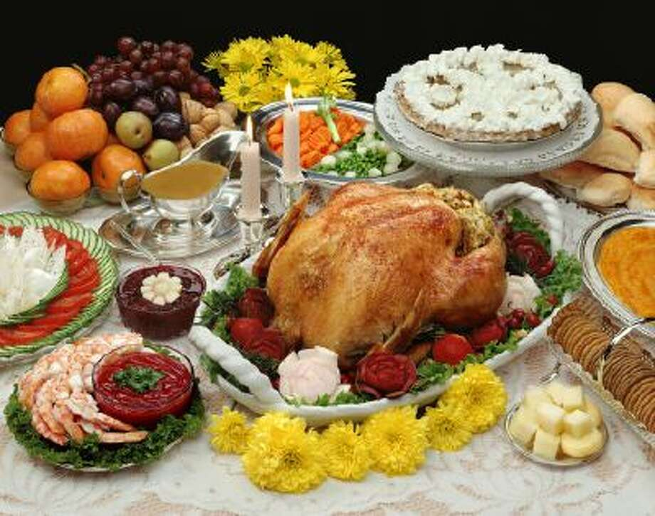 The average American can consume nearly 4,500 calories during Thanksgiving. Photo: Getty Images/iStockphoto / iStockphoto