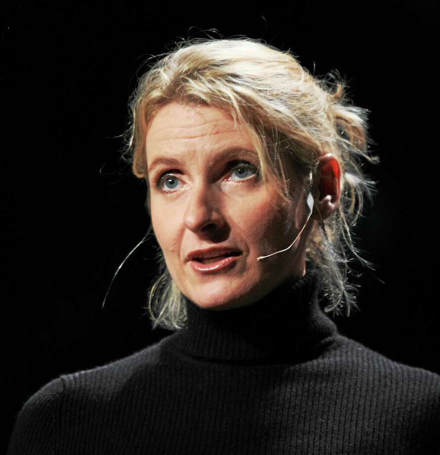 Elizabeth Gilbert during a TED talk in 2009. Photo: Contributed Photo — Erik Charlton