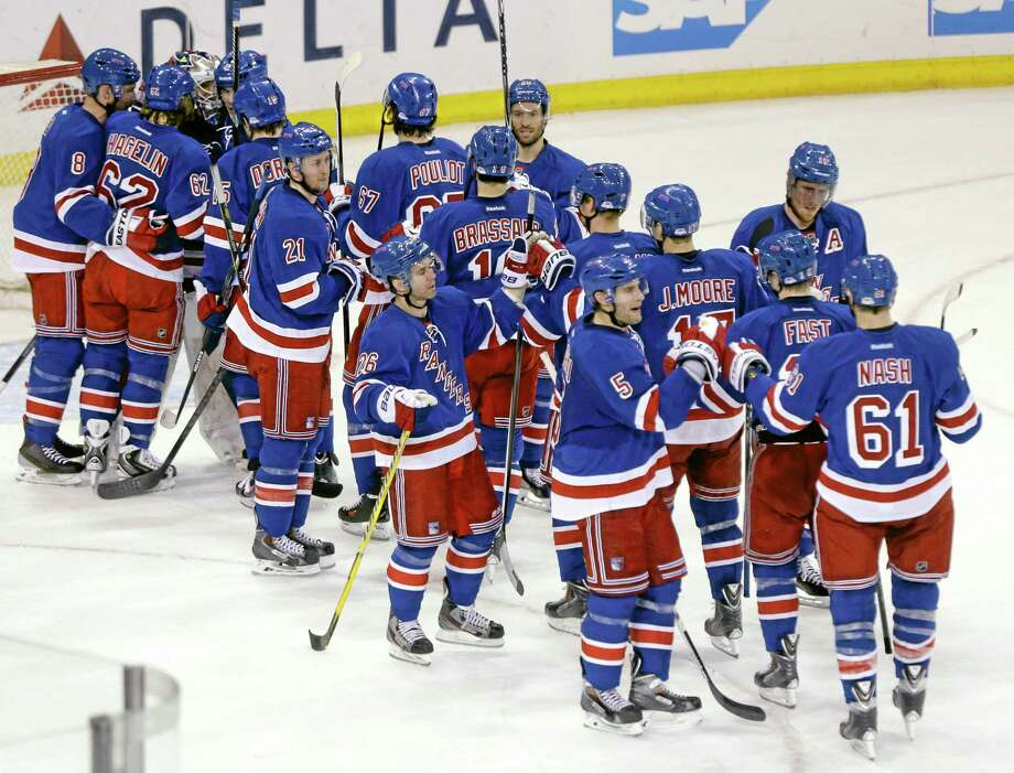 The New York Rangers will take on the Philadelphia Flyers in the Stanley Cup playoffs starting Thursday. Photo: Frank Franklin II — The Associated Press  / AP