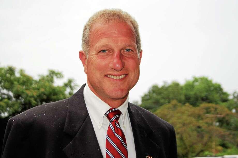 Shelton Mayor Mark A. Lauretti Photo: Journal Register Co.