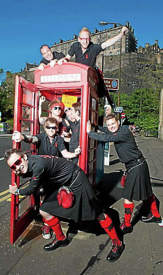 Submitted photo - Red Hot Chili Pipers The Red Hot Chili Pipers are heading to Torrington for a 9/11 show. Tickets go on sale Friday. Photo: Journal Register Co. / Wattie Cheung Photography