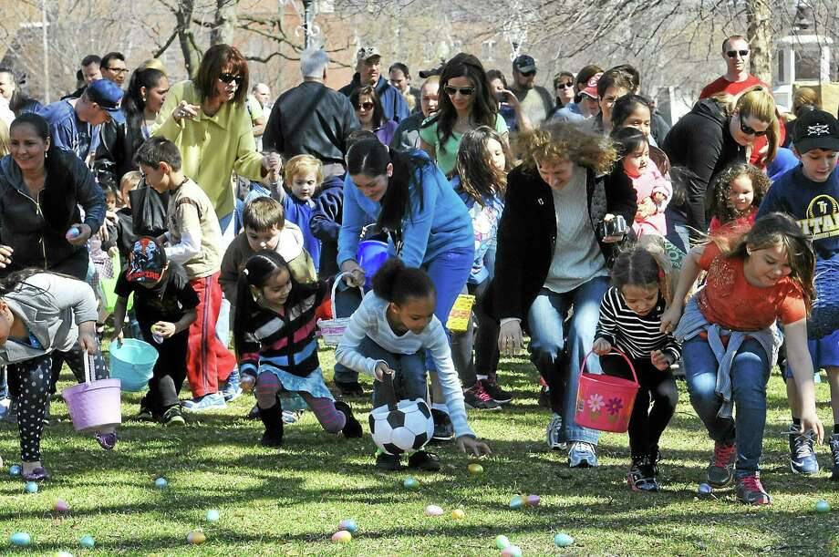 More than 400 children were estimated to have attended Torringon's annual Easter Egg Hunt Saturday at Coe Memorial Park. See a full gallery of photos from the event at Media.RegisterCitizen.com. Photo: Laurie Gaboardi — Register Citizen