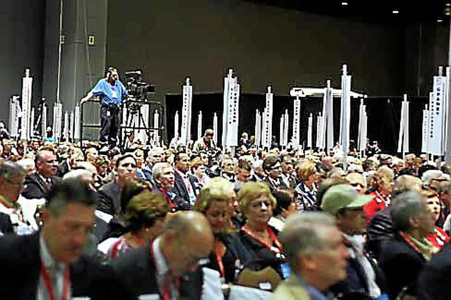 GOP nominating convention. Photo: CT New Junkie File Photo
