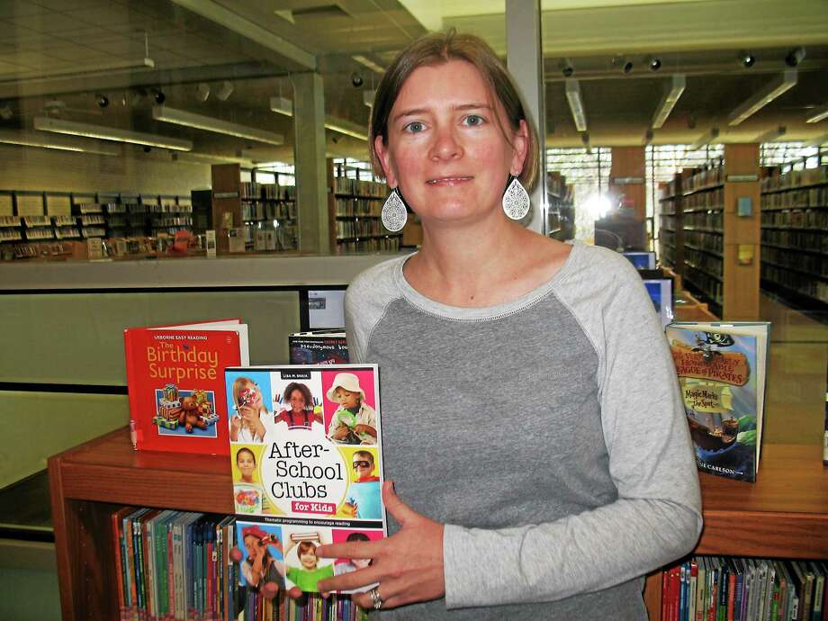Lisa Shaia and her new book After-School Clubs for Kids Photo: Contributed Photo