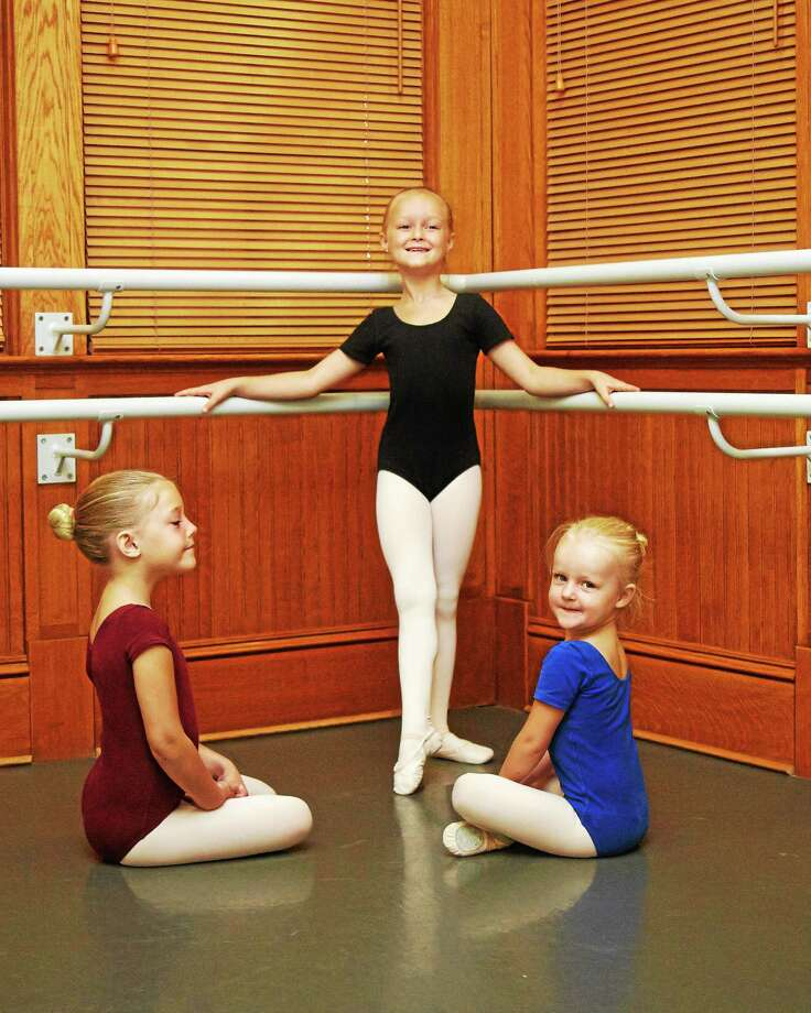 Submitted photo - Nutmeg Ballet Young students at the Nutmeg Conservatory. Photo: Journal Register Co.