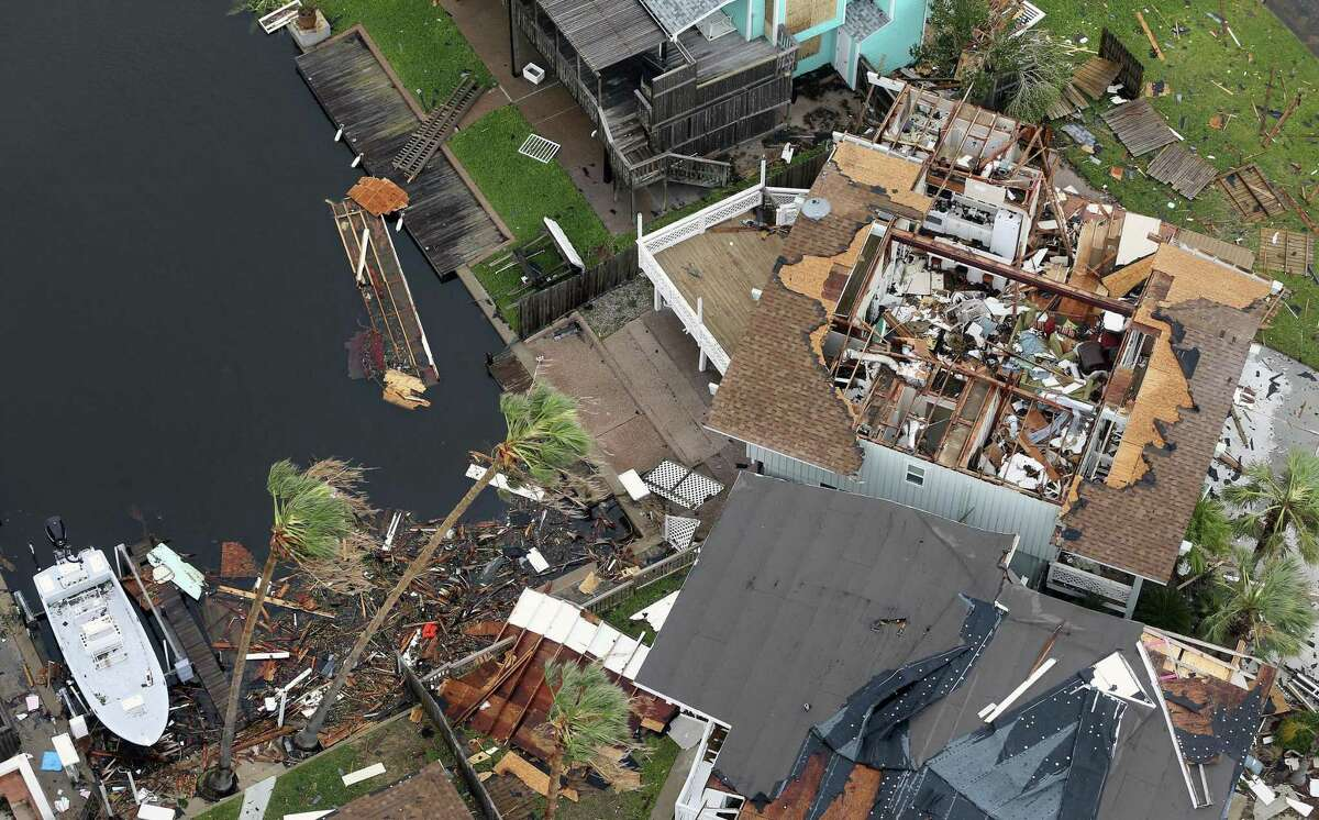 """Rockport was ground zero for Hurricane Harvey. """"Nearly 40 percent of small businesses don't survive natural disasters of this magnitude,"""" says Victor Lai, of San Antonio business brokerage Murphy Business."""