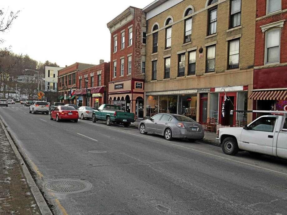 Winsted's Main Street. Photo: Journal Register Co.