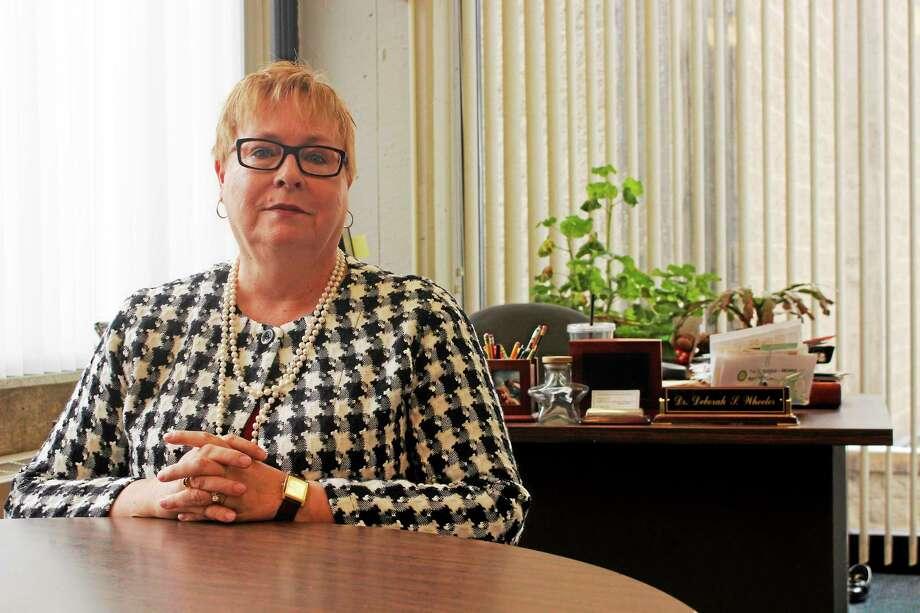 Outgoing Litchfield Superintendent Deborah Wheeler. Photo: Shako Liu — The Register Citizen