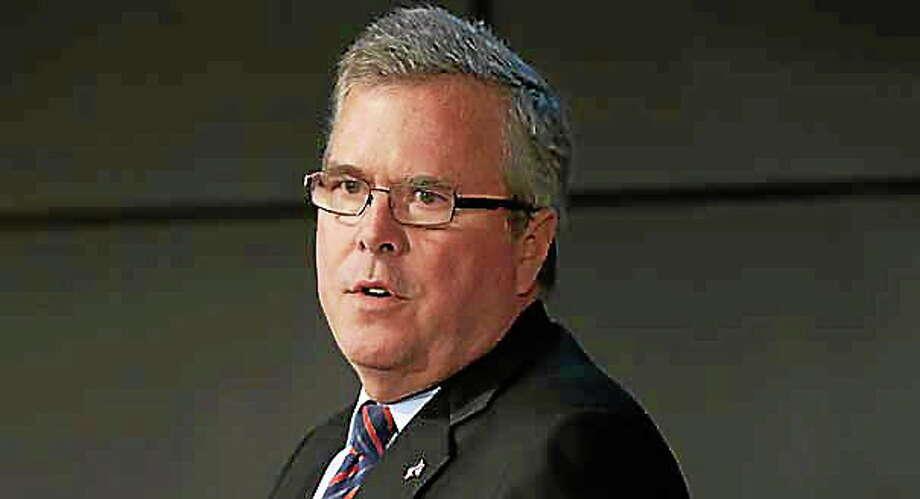 Jeb Bush Photo: AP File Photo