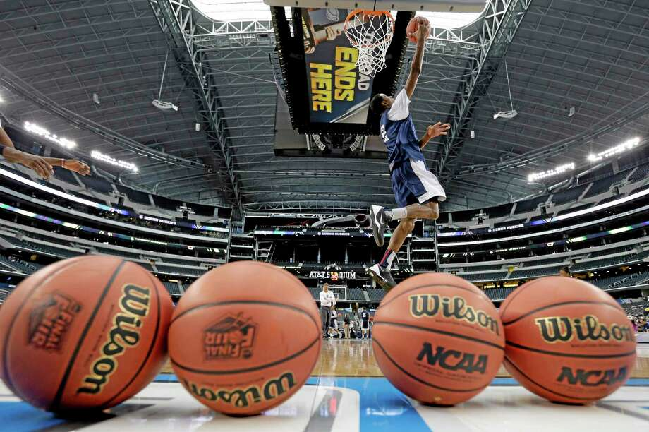 """UConn forward DeAndre Daniels could be the """"X"""" factor for the Huskies when they take on Florida in the national semifinals. Photo: Eric Gay — The Associated Press  / AP"""