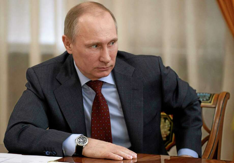 Russian President Vladimir Putin Photo: AP FILE PHOTO  / RIA Novosti Kremlin