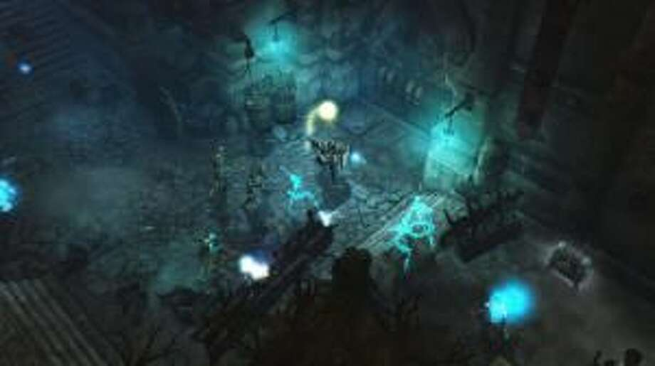 """BLIZZARD ENTERTAINMENT The Crusader, top right, is a new hero in """"Diablo III: Reaper of Souls,"""" which represents a vast improvement in the franchise. Photo: Be / be"""