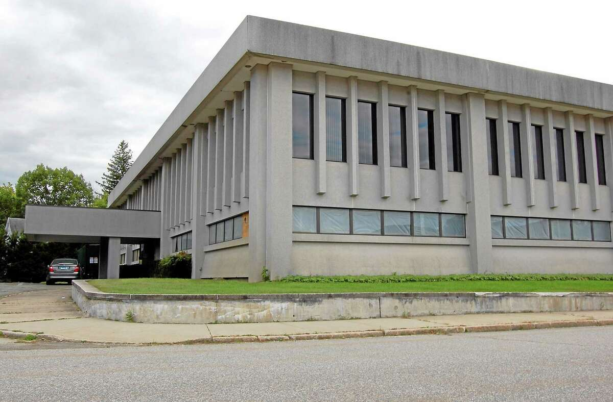 A former Torrington Company building owned by the state of Connecticut that is set for demolition.