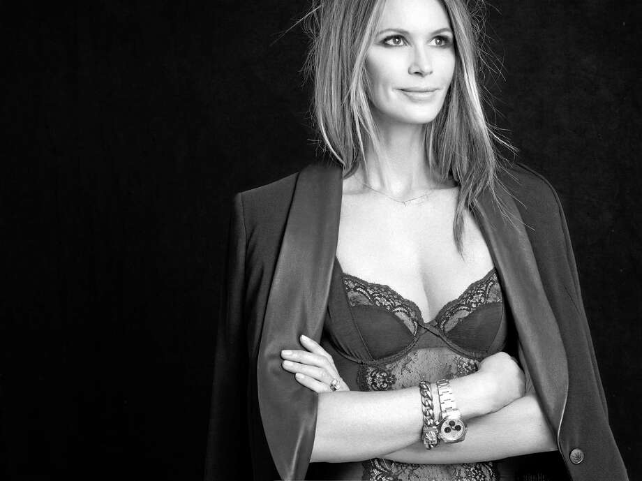 This undated photo provided by J.C. Penney shows the company's ad for its new  xclusive lingerie collection in the U.S. with a partnership with Elle Macpherson. Photo: The Associated Press — J.C. Penney  / J.C. Penney
