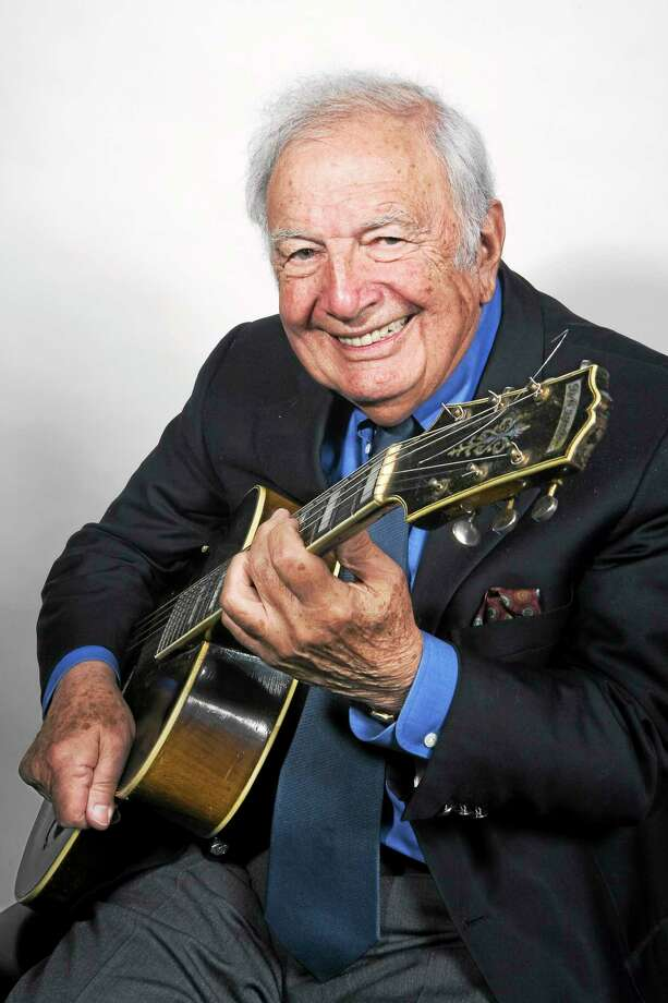 Submitted photo - Jazz guitar expert Bucky Pizzarelli is coming to The Silo in May. Photo: Journal Register Co. / ©Alan Nahigian
