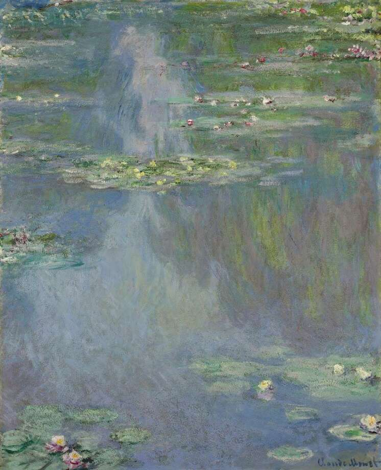 "In this image provided by Christie's auction house, Friday, Jan. 31, 2014 is ""Water Lilies"" by French impressionist painter Claude Monet. It is part of the Huguette Clark collection that is scheduled to be offered at auction May 6 in New York. (AP Photo/Christie's) Photo: Contributed/AP / AP / Christie's"