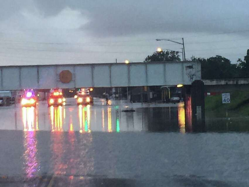 Scenes from Port Arthur Monday morning.   Photo: Port Arthur Police Department.