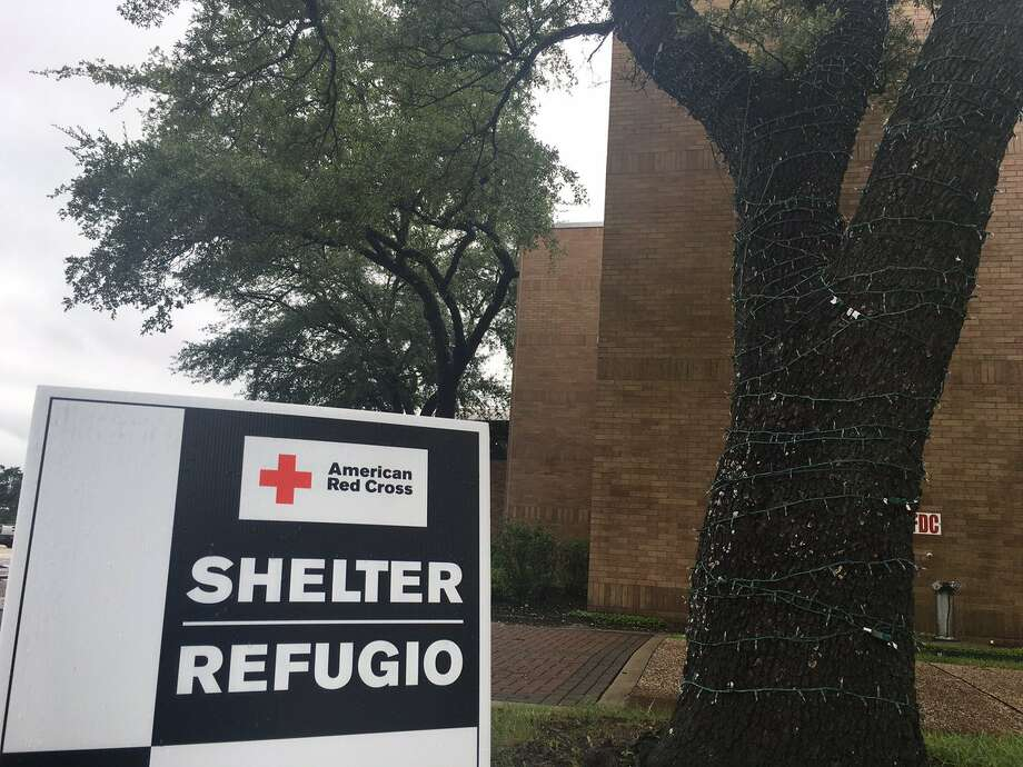 Beaumont Civic Center had a Red Cross Shelter, currently holding about 28. They have 100 beds ready + 100 on standby.Photo: Morgan Gstalter Photo: BE