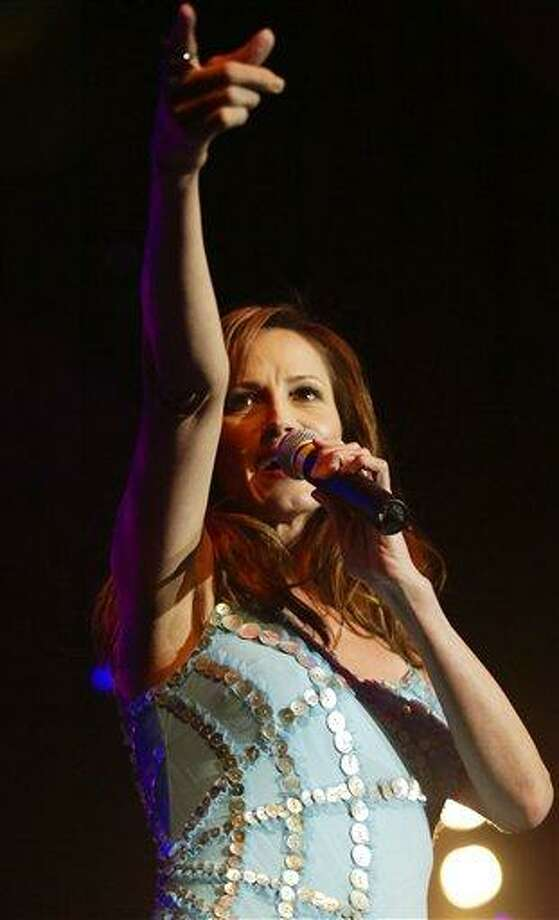 FILE - In this May 26, 2004 file photo, Chely Wright performs at the
